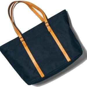 Hearth & Hand Bags - Large Tote Canvas and Leather